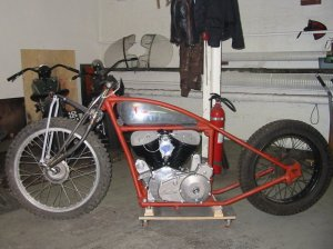 Click for more photos and a story on how to build a Chout frame...